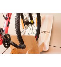 Soporte de piso desarmable para bicicleta
