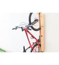 Soporte vertical de pared para bicicleta