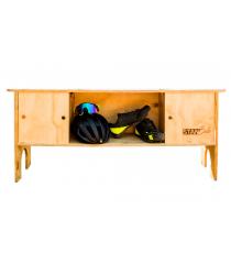 Mueble para bicicleta y accesorios