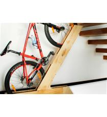 Soporte inclinado para bicicleta